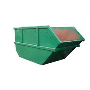 Заказать бункер для вывоза мусора.